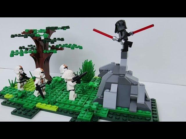 Sith vs. Republic troopers (Battle of Alderaan - Star Wars The Old Republic) - LEGO Star Wars MOC
