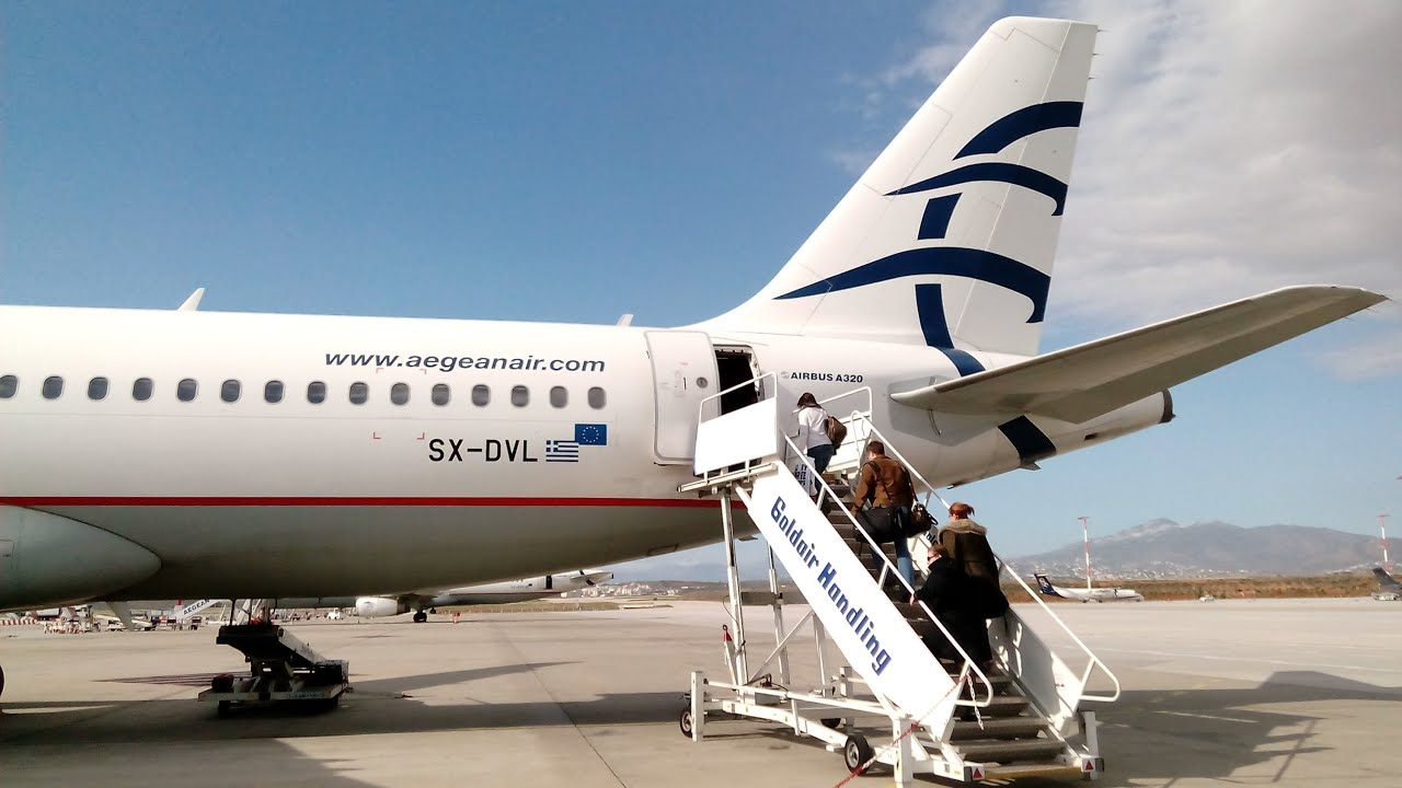 Aegean Airlines Unfall