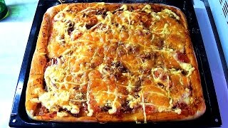 ПИЦЦА / Как приготовить пиццу (V. 2.0)(Видео рецепт приготовления пиццы. Ингредиенты: - 1 стакан тёплого молока - 1 ст.л. сахара, 1 ч.л. соли - 1 ст.л...., 2016-01-06T05:00:00.000Z)