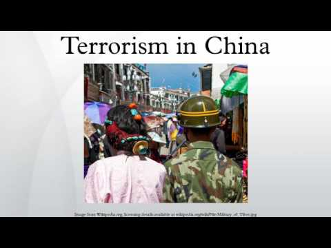 Terrorism in China