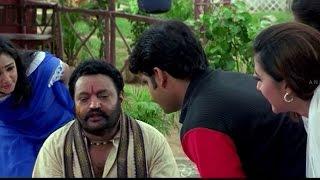 Harikrishna and Rajitha Romantic Scene    Sitaramaraju Movie    Harikrishna,Nagarjuna