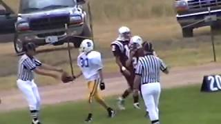 Midwest (Wyo) vs Dubois (Wyo) high school football 1998