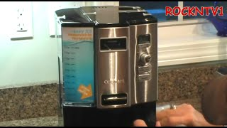 Coffee: on demand ? caffeine fix REVIEW DCC-3000 coffee maker