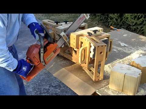 Contour mortise jig model 8x8 husqvarna stihl timberking chainsaw