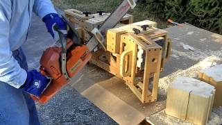 Edm Tracer Ii, Contour Mortise Jig, Model 8x8, Husqvarna, Stihl, Timberking, Chainsaw