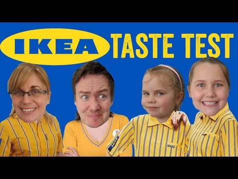 Ikea Food Haul Taste Test