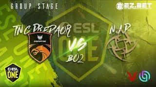 TNC Predator vs NIP    Best of 2   Group Stage   ESL Hamburg 2019
