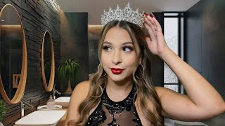 ASMR Toxic friend touches up your makeup during prom ❤️💄🙄