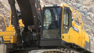 Volvo EC750D excavator: primed for performance