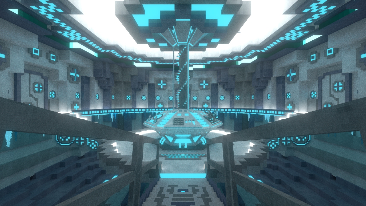 Awesome DOCTOR WHO | Minecraft Doctor Who TARDIS Interior Showcase | Glacier Desktop