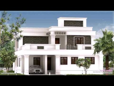 Flat Roof Style House Plans