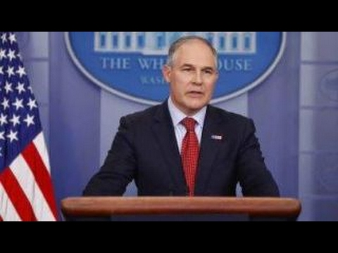 EPA Chief Scott Pruitt: 'Absolutely' be concerned about climate change