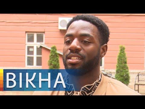 Вікна-новини: Поет на украинском и готовит борщ! Афроамериканец, учащийся во Франковске, стал звездой соцсетей