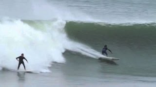 Go Big or Go Home - Surfing Session - Mundaka 28-10-2013