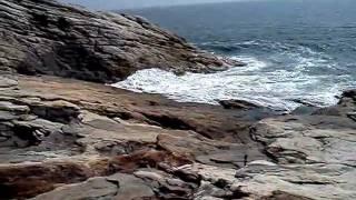 Tide Coming In - Reid State Park in Georgetown, Maine