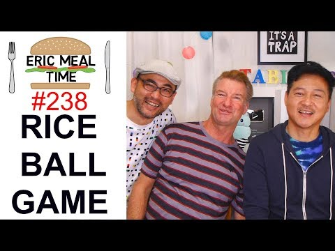 Rice Ball Tasting Challenge w/TABIEATS - Eric Meal Time #238