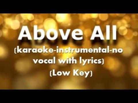 Nikita — Above All (karaoke-instrumental-no vocal with lyrics)
