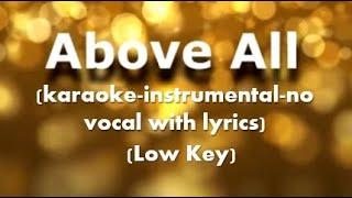 Nikita — Above All (karaoke-instrumental-no vocal with lyrics)