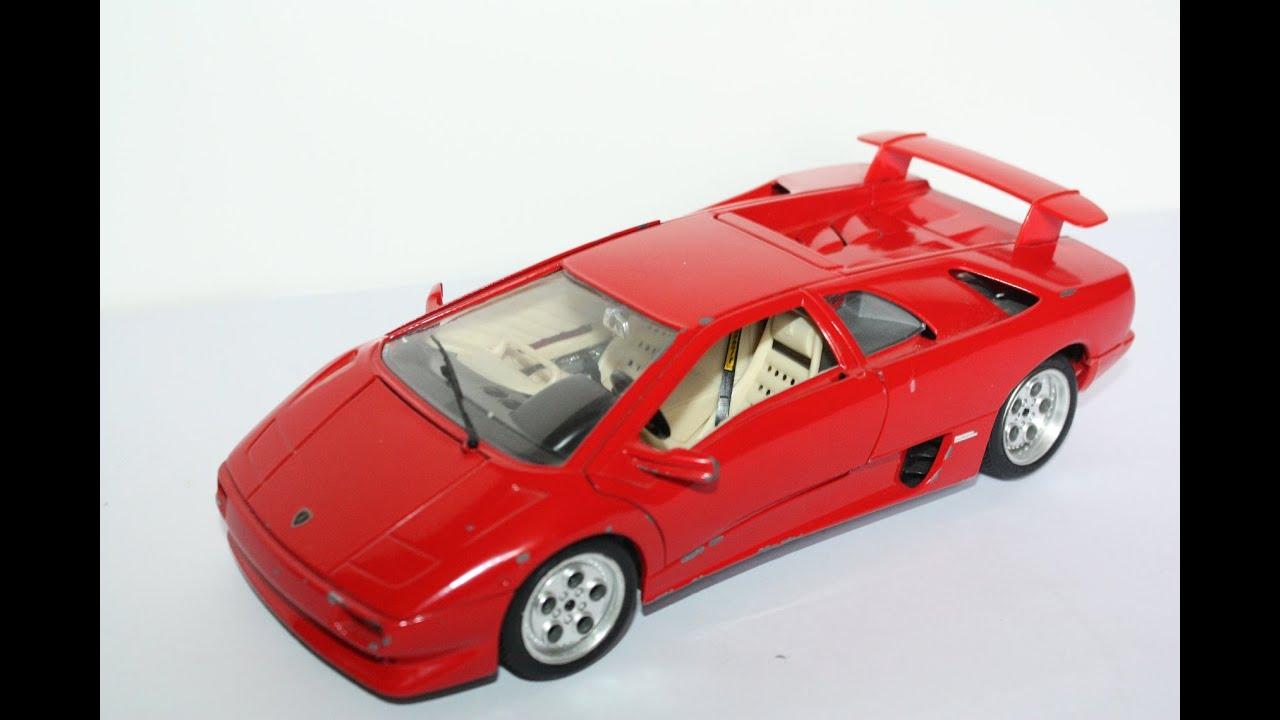 Lamborghini Diablo 1990 Red Hd