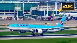 [4K] Landing Boeing 777 Korean Air at Incheon International Airport / Посадка Boeing 777 в Сеуле(, 2017-08-11T13:25:46.000Z)