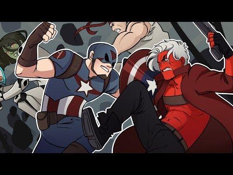THIS GAME IS INSANE! | Marvel vs Capcom: Infinite (vs H2O Delirious)