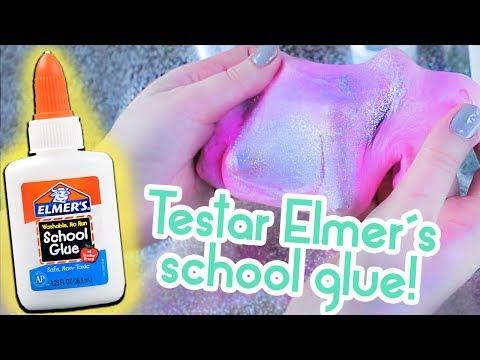Gör slime på Elmer's school glue!⚗️