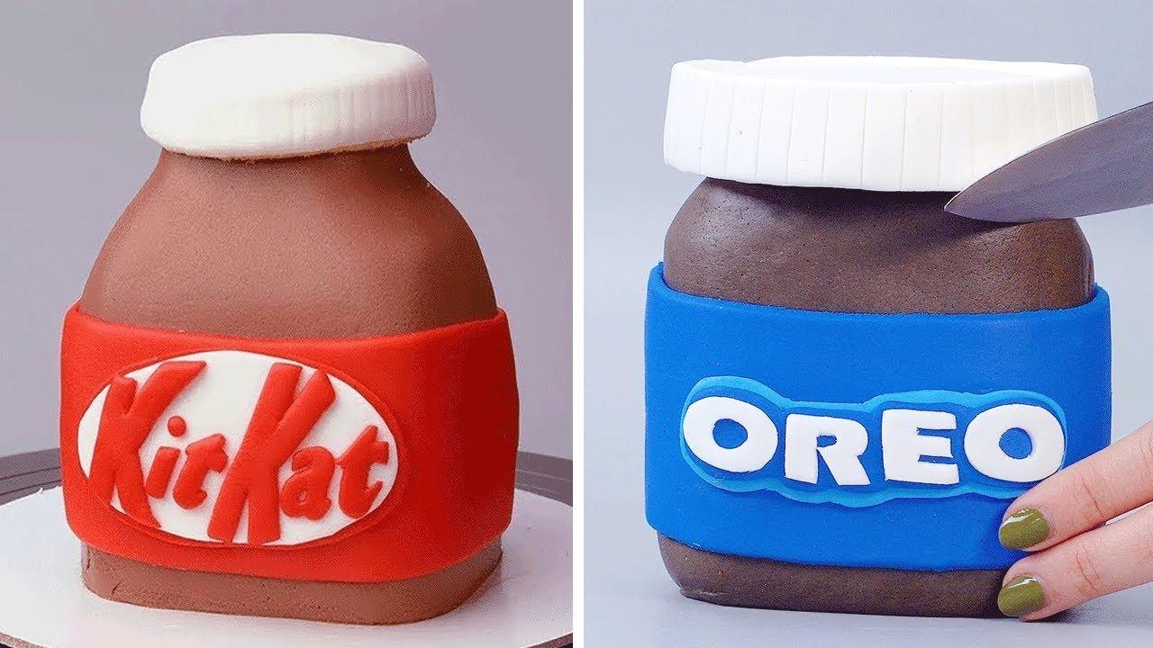 My Favorite Chocolate KITKAT & OREO Cake Decorating Recipes | Perfect and Easy Chocolate Cake Ideas