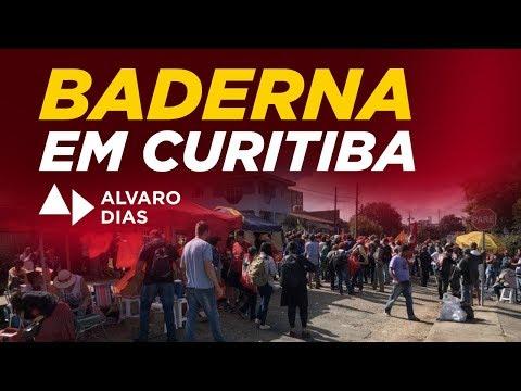 Baderna em Curitiba