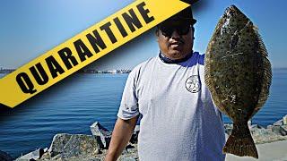 3 Long Weeks of NO FISHING QUARANTINE CHRONICLES San Diego Bay