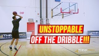 How to: Shoot a Basketball Better OFF THE DRIBBLE!!!   Basketball Shooting Tips and Techniques