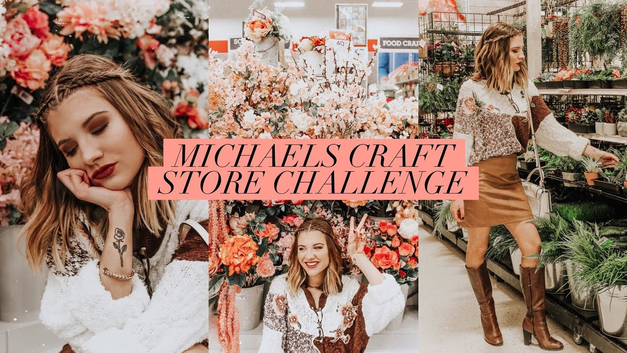 Michaels Photography Challenge Katie Baker Style Youtube