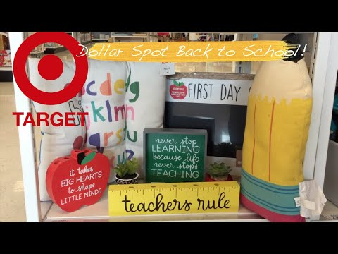 Everything New at Target Dollar Spot Back to School! Shop With Me!