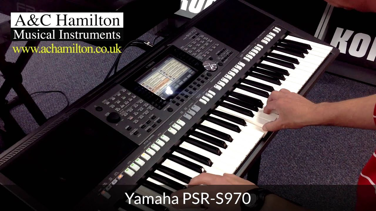 yamaha psr s970 arranger workstation keyboard first look. Black Bedroom Furniture Sets. Home Design Ideas