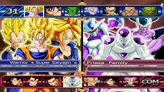 Warrior´s Super Saiyajin´s VS Frieza Family | Dragon Ball Z Budokai Tenkaichi 3