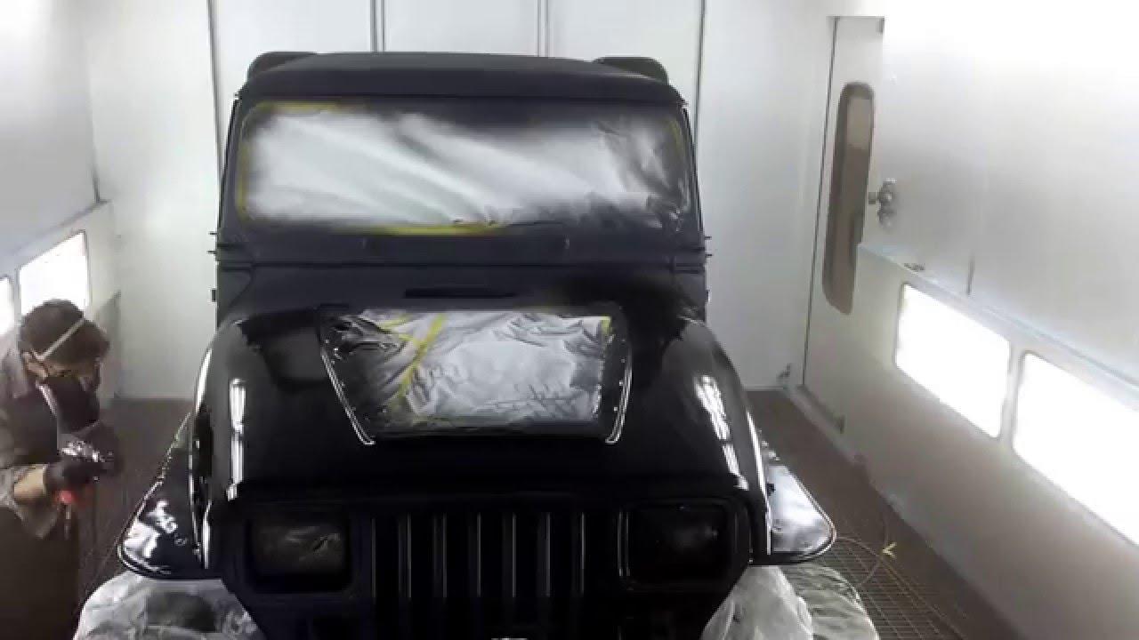 medium resolution of painting a jeep wrangler yj