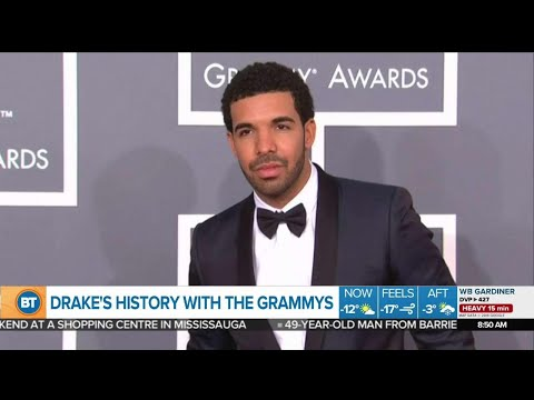 Drake's history with the Grammy's Mp3