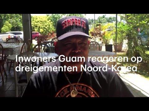 'Bidden dat er niets gebeurt', inwoners Guam na dreigement Noord-Korea - RTL NIEUWS