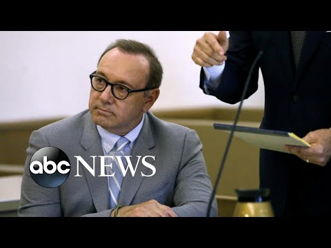 Sex crime charges dropped against Kevin Spacey