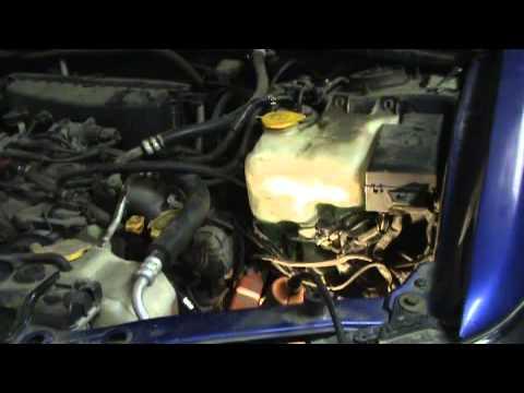 Subaru Forester SG. EJ25 атмо. Замена свечей зажигания.