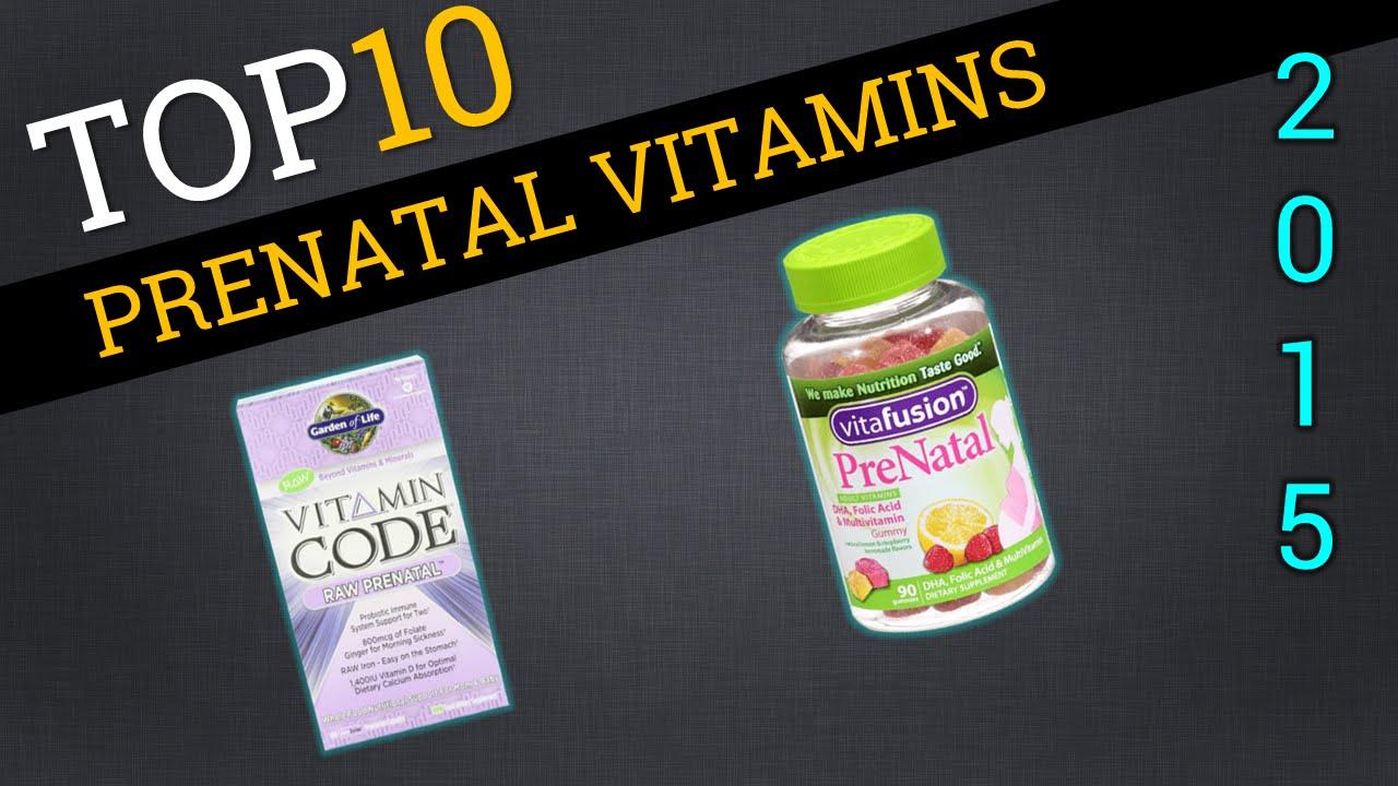 Top Prenatal Vitamins >> Top 10 Prenatal Vitamins 2015 Best Prenatal Vitamins