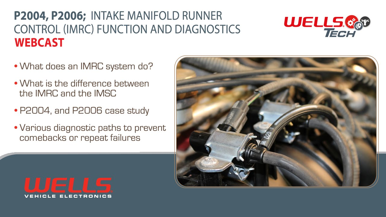 p2004 p2006 intake manifold runner control imrc function and diagnostics cdt youtube [ 1280 x 720 Pixel ]