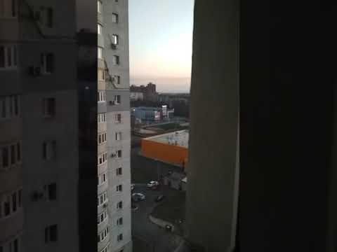 Эксклюзив! Сильный обстрел Донецка 11.04.18