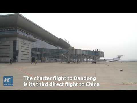 Pyongyang, Dandong in NE China launch charter flight