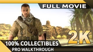 Sniper Elite 3 (PC) - Full Movie - Gameplay Walkthrough - 100% Collectibles [1080p 60fps]
