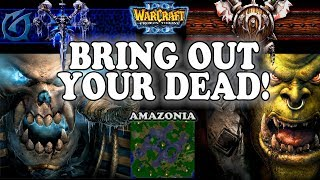 Grubby | Warcraft 3 TFT | 1.29 | UD v ORC on Amazonia - Bring Out Your Dead!
