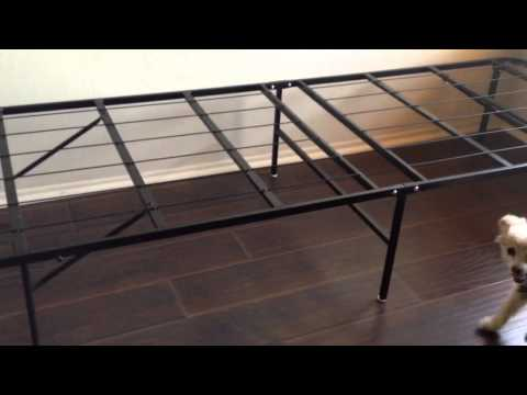 Innovated Box Spring, Bed Frame, Metal Frame - Platform Metal Bed Frame/foundation. Queen $89 Amazon