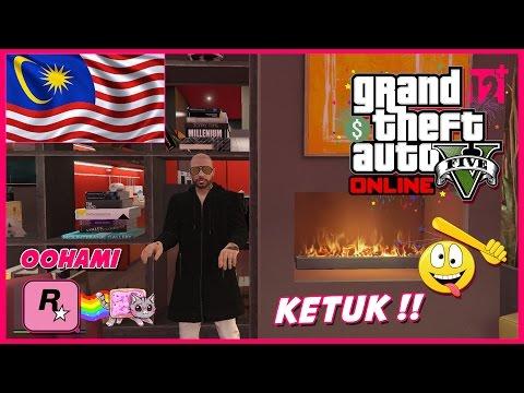 GTA 5 Online (Malaysia) || KETUK KEPALA DIA SAMPAI MATI !!