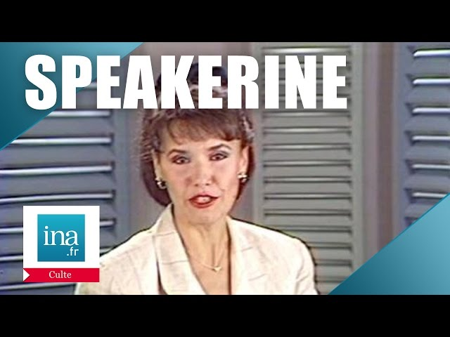 Speakerine 1988 Joëlle Boyadjian | Archive INA
