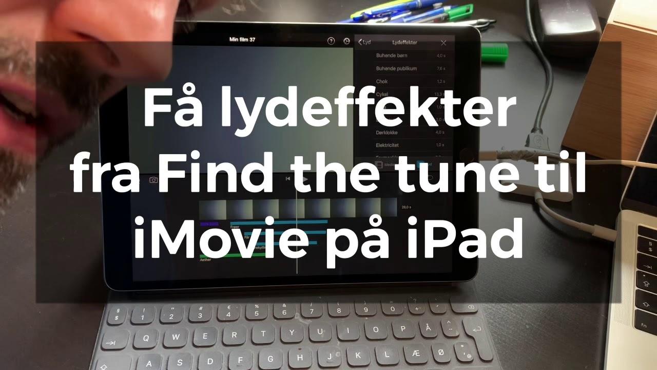 Få lyd fra Findthetune (SkoleTube) til iMovie på iPad