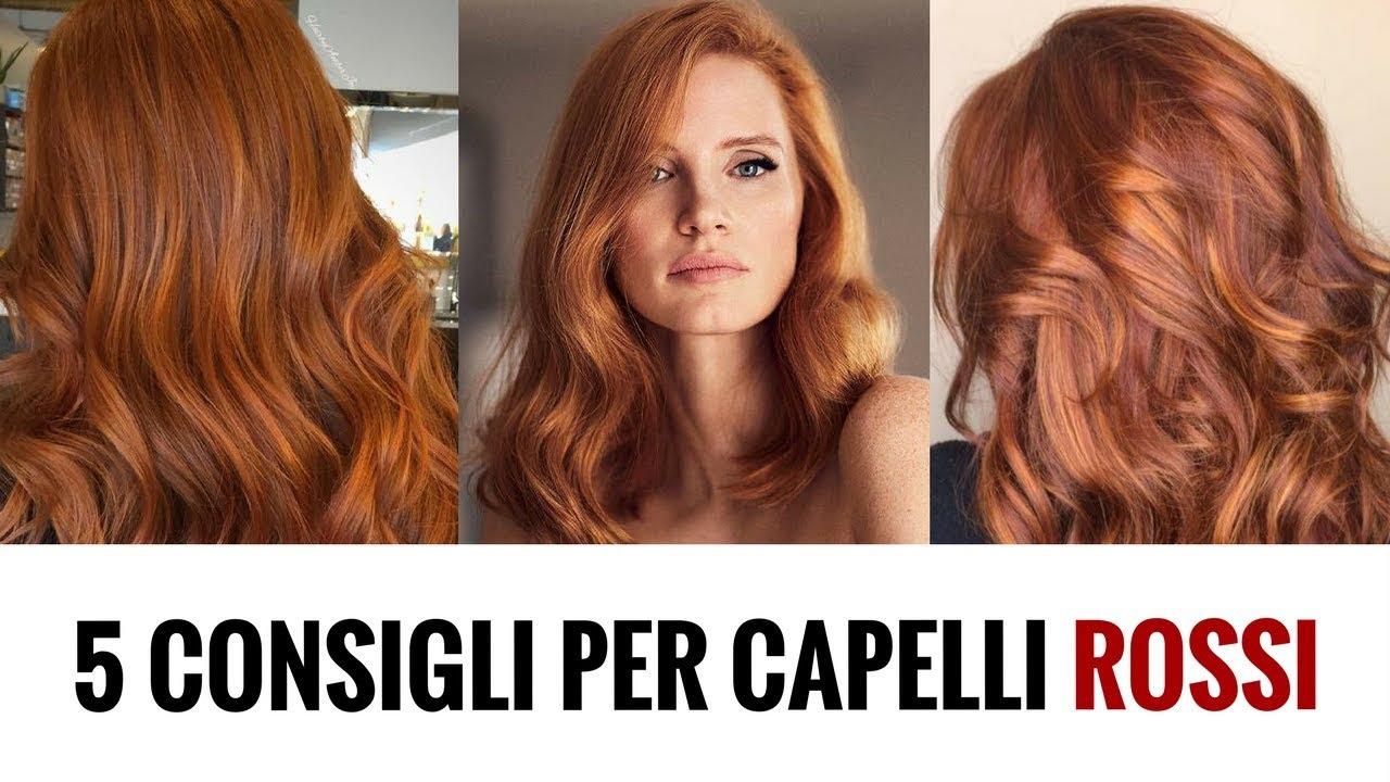 Fare i capelli rossi naturali: 5 consigli per la tinta ...